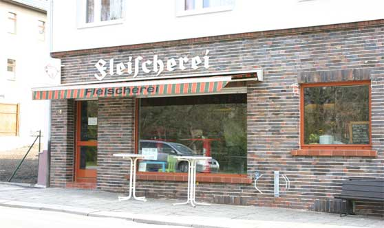 Fleischerei-Gebäude